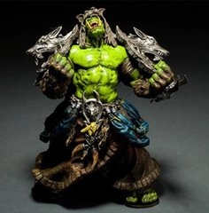 Фигурка World of Warcraft - Orc Shaman, Rehgar Earthfury, 20 см (WC 0002)